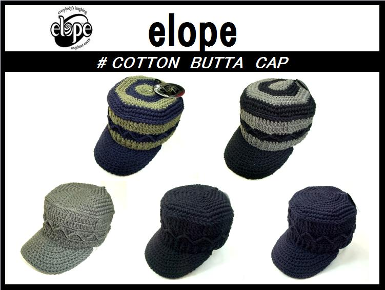 ��elope/���?�ڡ۴��䤷�ޤ���<br>COTTON BUTTA CAP<br>5color