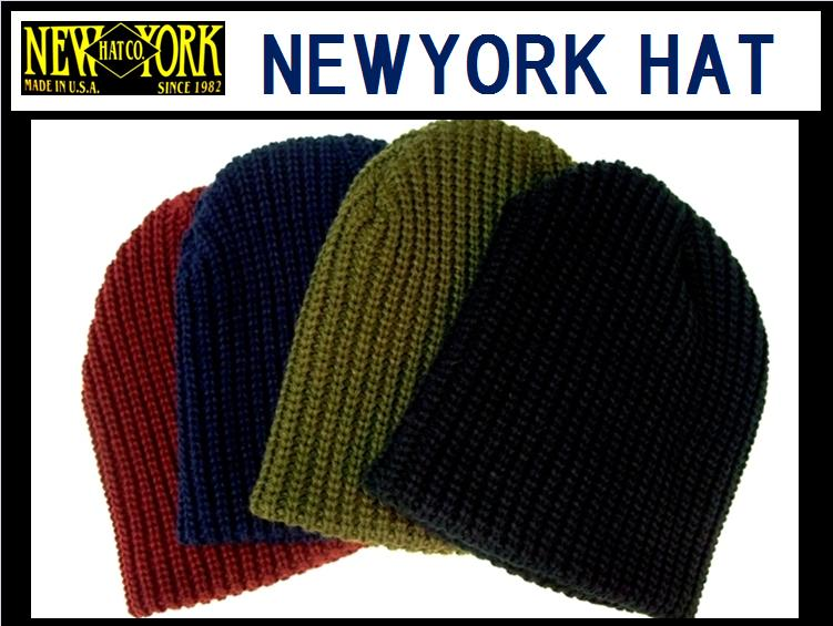 【NEWYORK HAT/ニューヨークハット】<br>CHUNKY BEANIE<br>4color