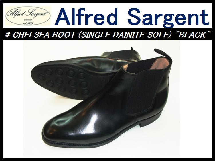 �ڥ���ե�åɥ���������ȡۡڴ��䤷�ޤ�����<br>CHELSEA BOOT(single dainite)<br>BLACK
