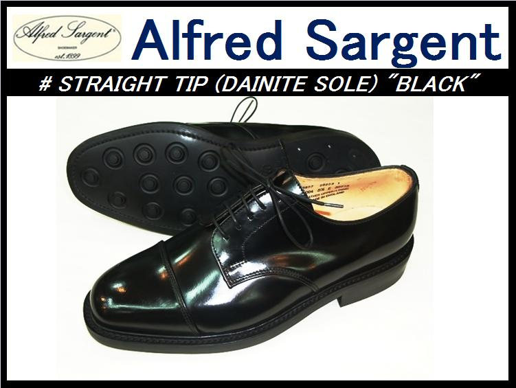 �ڥ���ե�åɥ���������ȡۡ�2/2�����١�<br>STRAIGHT TIP(dainite sole)<br>BLACK